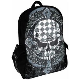 Sac à Dos BANNED - Checkered Skull
