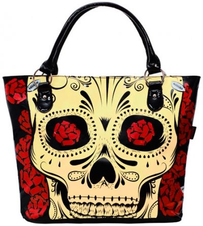 Sac à Main JAWBREAKER Big Mexican Skull Rock A Gogo