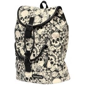 Sac à Dos LOUNGEFLY - Floral Skulls