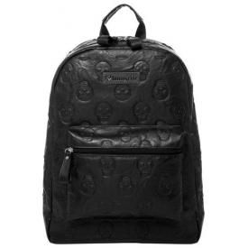 Sac à Dos LOUNGEFLY - Embossed Skulls