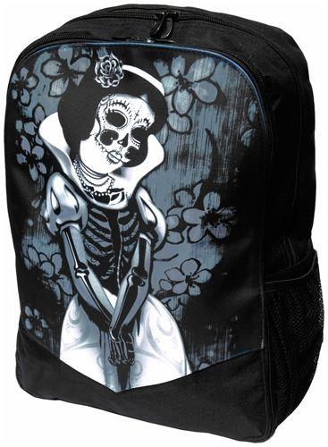 Image de Sac à Dos DARKSIDE - Snow White Skeleton