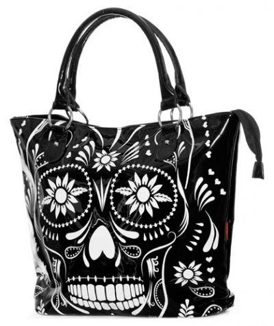 sac main jawbreaker floral skull sacs rock a gogo. Black Bedroom Furniture Sets. Home Design Ideas