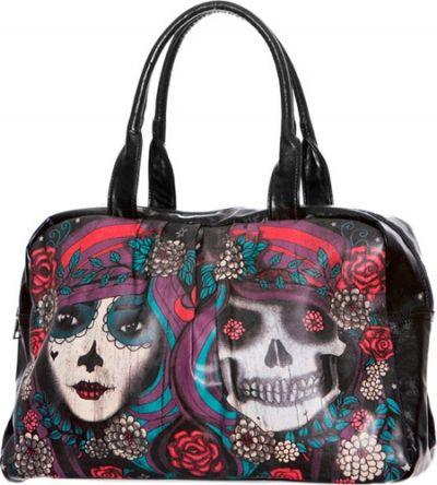 sac main jawbreaker twins mexican skulls sacs rock a gogo. Black Bedroom Furniture Sets. Home Design Ideas