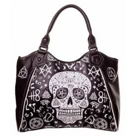 Sac à Main BANNED - Skull Pentagram