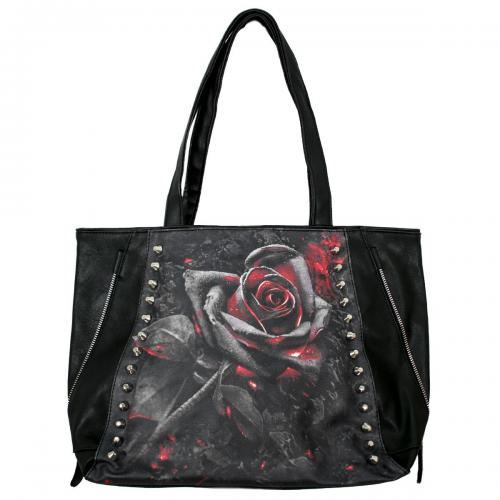 sac a main rose noir army