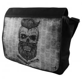 Sac Messenger DARKSIDE - Bearded Skull
