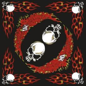 Bandana DIVERS - Flamming Skulls
