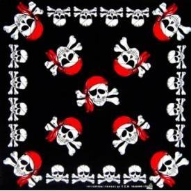 Bandana TÊTE DE MORT - Pirates