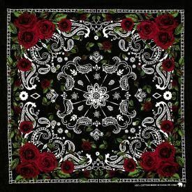 Bandana DIVERS - Cachemire et Roses