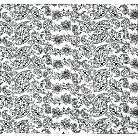 Bandana CACHEMIRE - Paisley Flowers