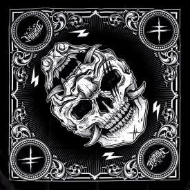 Bandana HYRAW - Skull
