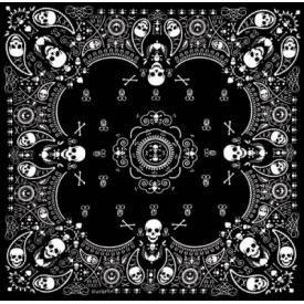 Bandana DIVERS - Skull Cachemire