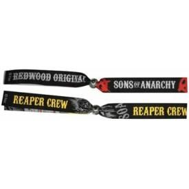 Bracelet Festival SONS OF ANARCHY - Reaper Crew X2