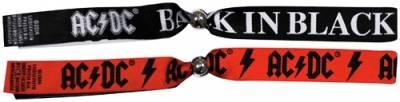 bracelet festival ac dc set x2 bracelets rock a gogo. Black Bedroom Furniture Sets. Home Design Ideas