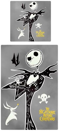 parure de lit mister jack mr skellington rock a gogo. Black Bedroom Furniture Sets. Home Design Ideas