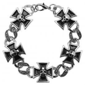 Bracelet MÉTAL - Croix de Malte