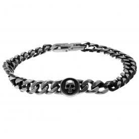 Bracelet ACIER - Médaillon Tête De Mort