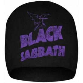 Bonnet BLACK SABBATH - Wavy Logo