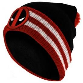 Bonnet DEADPOOL - Red Bobble Logo