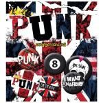 Pack de 6 Badges PUNK - England