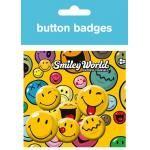 Pack de 6 Badges SMILEY - Emoticons