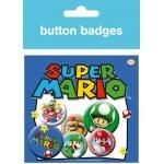 Pack de 6 Badges NINTENDO - Mario Names