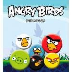 Pack de 6 Badges ANGRY BIRDS - Characters