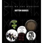 Pack de 6 Badges BRING ME THE HORIZON - Sempiternal