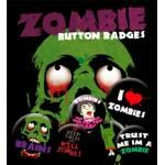 Pack de 6 Badges ZOMBIE - Buttons