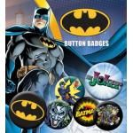 Pack de 6 Badges BATMAN - Comics