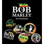 Pack de 6 Badges BOB MARLEY - Get Up