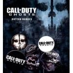 Pack de 6 Badges CALL OF DUTY - Ghosts