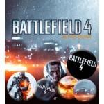 Pack de 6 Badges BATTLEFIELD - 4