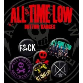 Pack de 6 Badges ALL TIME LOW - Buttons