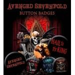Pack de 6 Badges AVENGED SEVENFOLD - Hail To The King