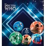 Pack de 6 Badges DOCTOR WHO - Buttons