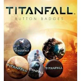 Pack de 6 Badges TITANFALL - Buttons