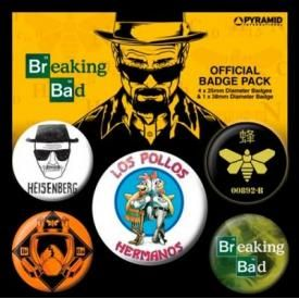 Pack de 5 Badges BREAKING BAD - Los Pollos Hermanos