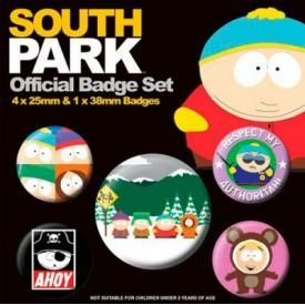 Pack de 5 Badges SOUTH PARK - Characters