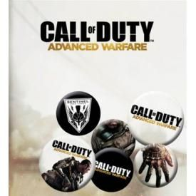 Pack de 6 Badges CALL OF DUTY - Advance Warfare
