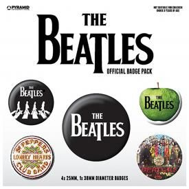 Pack de 5 Badges THE BEATLES - Classic Albums