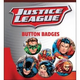 Pack de 6 Badges DC COMICS - Justice League Jim Lee