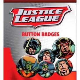 Pack de 6 Badges DC COMICS - Justice League Heros