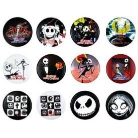 Pack de 12 Badges MISTER JACK - Jacks