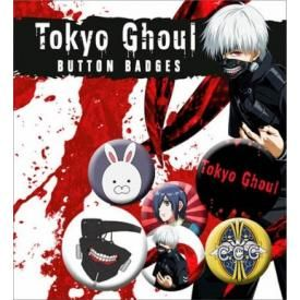 Pack de 6 Badges TOKYO GHOUL - Characters