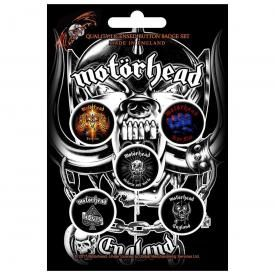 Pack de 5 Badges MOTÖRHEAD - Albums
