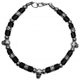 Bracelet MÉTAL - Skulls & Balls