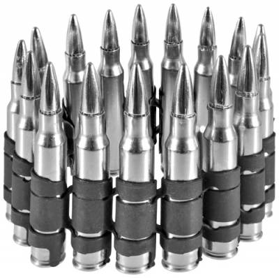9b7f9b90b5b3 Bracelet MÉTAL - Silver Bullets - Rock A Gogo