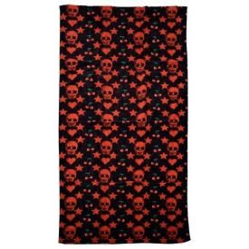 Serviette de Bain ROCK DADDY - Red Patterns