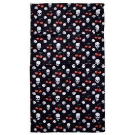 Serviette de Bain ROCK DADDY - Skulls, Cross And Cherries
